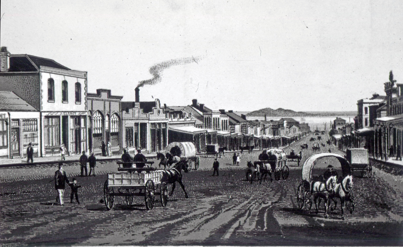 Brian Boru hotel - second from left - c.1880s