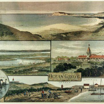 The Ocean Grove History Murals