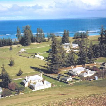 Norfolk Island – Wednesday 20th November 2019